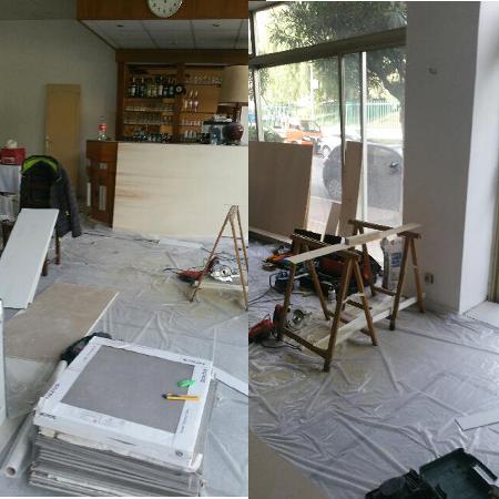 Redécoration de notre Hôtel à Menton
